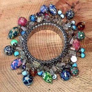 Jewelry - Vintage Cha-Cha Expansion Silver Tone Bracelet